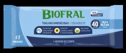 BIOFRAL - TOALHAS UMEDECIDAS