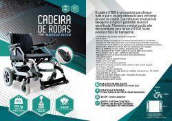 CADEIRA DE RODAS MOTORIZADA D1000 **PROMOÇÃO A VISTA**